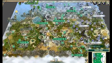 Civ 5 AI Only Timelapse: Settled Barbarians - YouTube