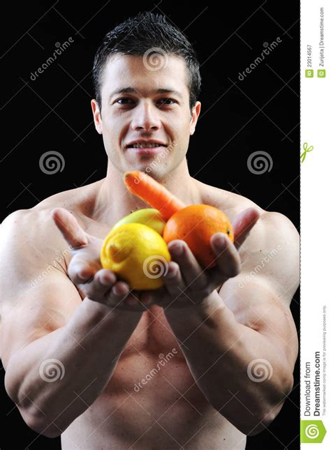 The Perfect Male Body Royalty Free Stock Photography