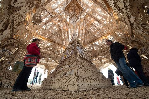 Temple by David Best: Burning Man artist's spectacular