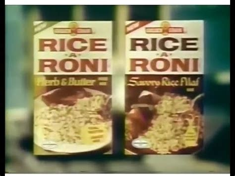 Rice-A-Roni Commercial (1978) - YouTube