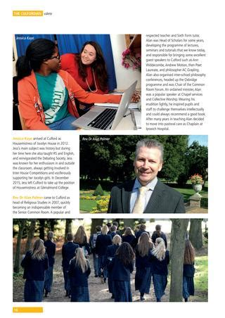 The Culfordian Senior School 2015/16 by Culford School - Issuu