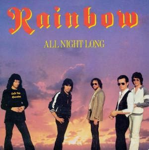 RAINBOW All Night Long reviews