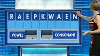 Lewd word causes Countdown blushes - BBC News