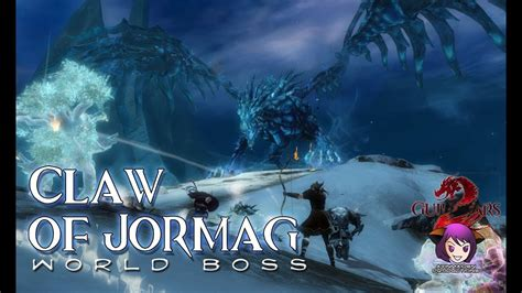 Guild Wars 2 ★ - World Boss - Claw of Jormag - YouTube